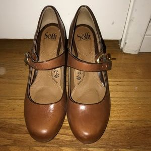 66bb01dc44c Sofft Shoes - Sofft shoes Miranda cork sturdy brown